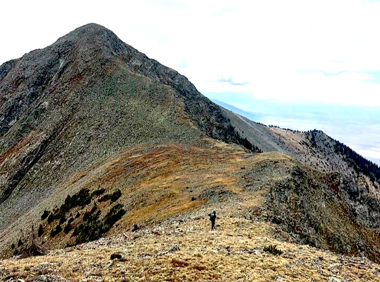 Sangre traverse, part 2: Hunts Peak to Hayden Pass